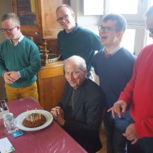 Une visite épiscopale