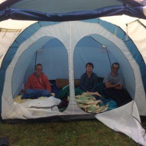 Un camp d'été pluvieux, mais heureux !